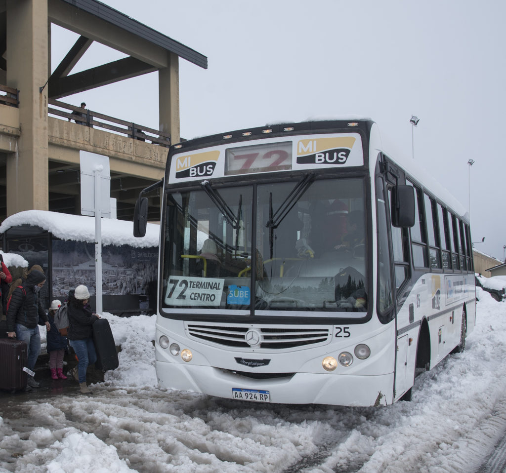 colectivo linea 72 aeropuerto bariloche