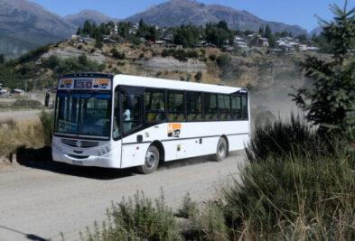 colectivo transporte publico en bariloche