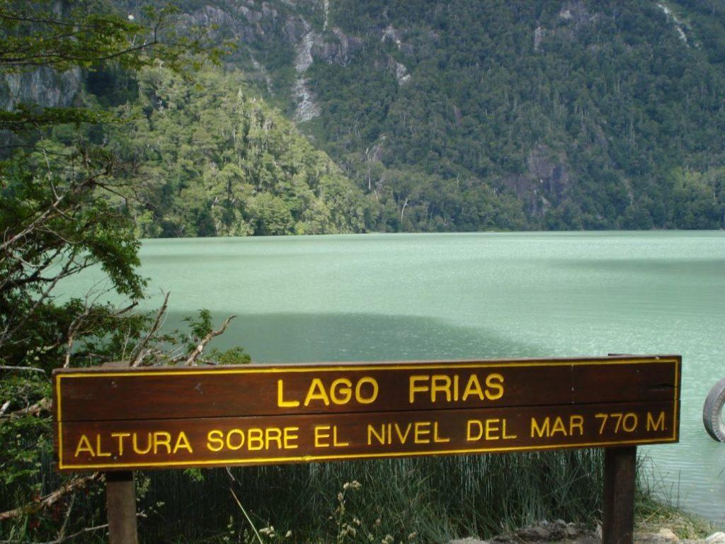navegacion lago frias