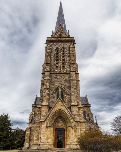 Catedral de Bariloche Nuestra señora del Nahuel Huapi de frente