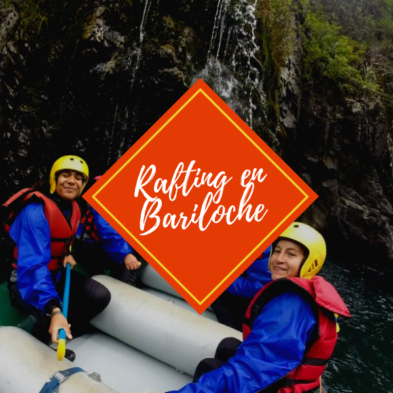 excursion rafting en bariloche