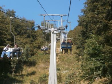 ascenso cerro campanario en circuito chico