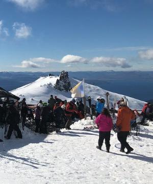paradores en la cumbre del cerro catedral