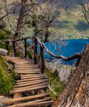 paseo en el lago gutierres en bariloche