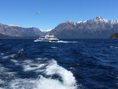 navegación lago nahuel huapi