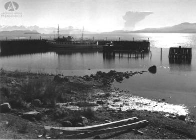 lagomoto de bariloche de 1960