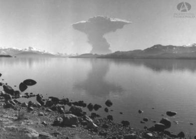 lago nahuel huapi en 1960