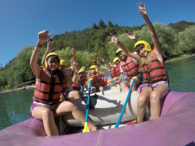 rio manso inferior rafting
