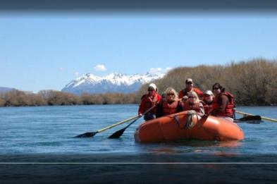 rio limay rafting para la familia