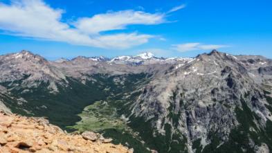 camino y trekking de montaña